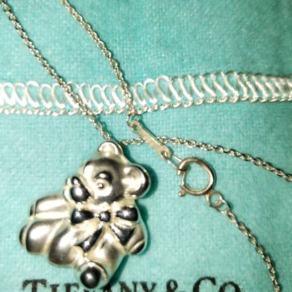 6b4ea5c4a Tiffany & Co. Jewelry | Tiffany Teddy Bear Pendant | Poshmark